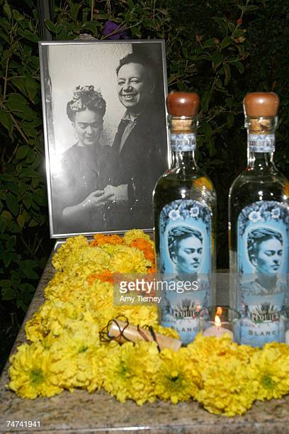 Atmosphere Frida Kahlo Tequila at the Michael Scott Estate in Los Angeles California