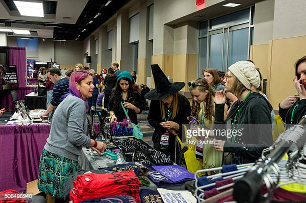 Atmosphere from BroadwayCon 2016 at the New York Hilton Midtown on January 23 2016 in New York City