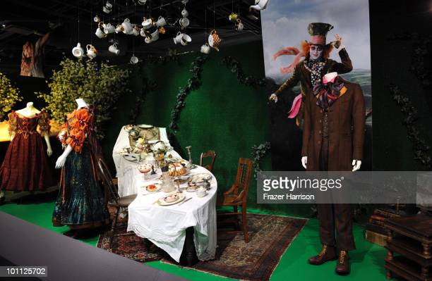 Atmosphere from the opening night of FIDM exhibit for Walt Disney Studios 'Alice In Wonderland' at LA's Fashion Institute of Design and Merchandising...