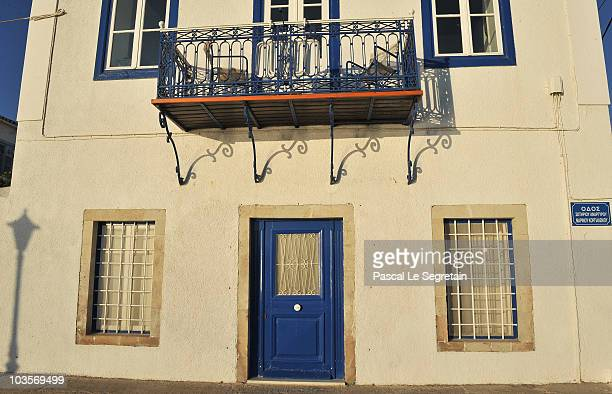 Atmosphere in the early morning in Spetses before the Greek royal wedding on August 24 2010 in Spetses Greece The small Greek Island three hours from...