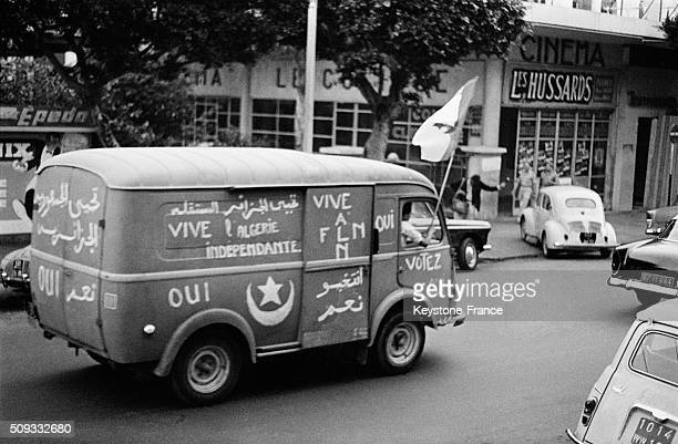 JULY 03 Atmosphere In The Streets Of Algiers In The Days Following The Independence in Algiers Algeria on July 3 1962