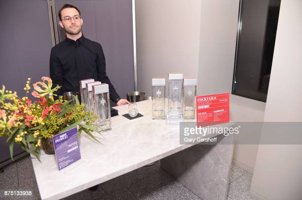 Atmosphere inside Fred's at Barney's during Housing Works' Fashion for Action 2017 on November 16 2017 in New York City