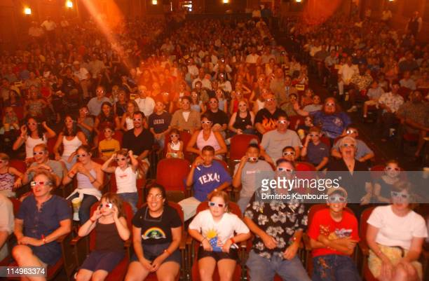 Atmosphere inside the theater during 'Spy Kids 3D Game Over' World Premiere Arrivals at Paramount Theatre in Austin Texas United States