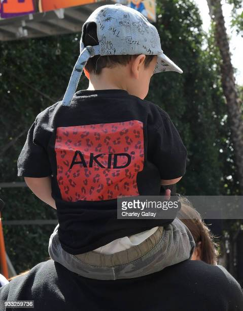 Atmosphere is seen at AKID Brand's 3rd Annual 'The Egg Hunt' at Lombardi House on March 17 2018 in Los Angeles California