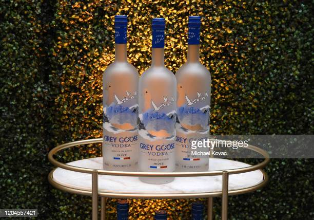 Atmosphere is seen at Grey Goose Toasts To A Year Of Victorious Filmmaking at The MACRO Pre-Oscars Party at Fig & Olive on February 06, 2020 in West...