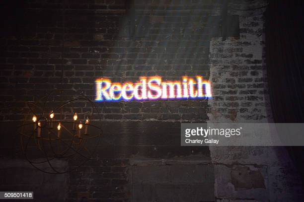 Atmosphere is seen at the Reed Smith GRAMMY Party at The Sayers Club on February 10 2016 in Hollywood California
