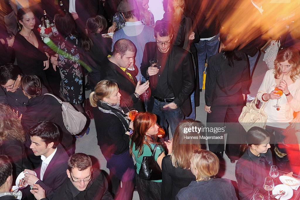Atmosphere is seen at the TNT Serie Channel Launch at the Isarpost on January 28, 2009 in Munich, Germany.
