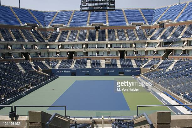 Atmosphere, National Tennis Center during The United States Tennis Association and the City of New York Announce the Renaming of Arthur Ashe Stadium...