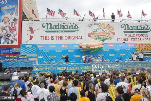 Atmosphere of 2007 Nathan's Hot Dog Eating Contest