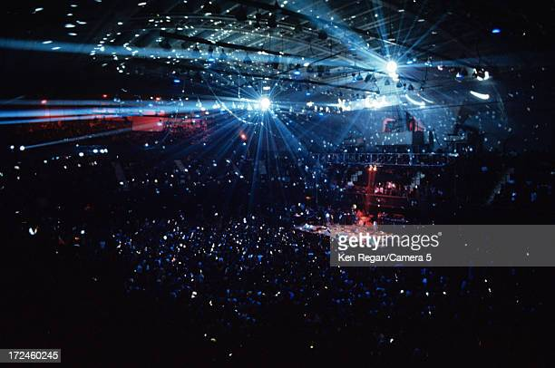 Atmosphere of a Rolling Stones concert is photographed in June 1975 at Madison Square Garden in New York City CREDIT MUST READ Ken Regan/Camera 5 via...