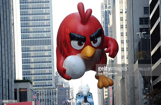 Atmosphere of Angry Birds Movie Red In Macy's Thanksgiving Day Parade on November 26 2015 in New York City