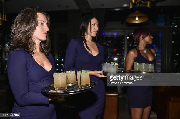 Atmosphere of PMA with KANTRR Labs and Pierce Capital Entertainment host the Wrap Party of 'Tu Me Manques' Sponsored by Singani 63 at The Skylark on...