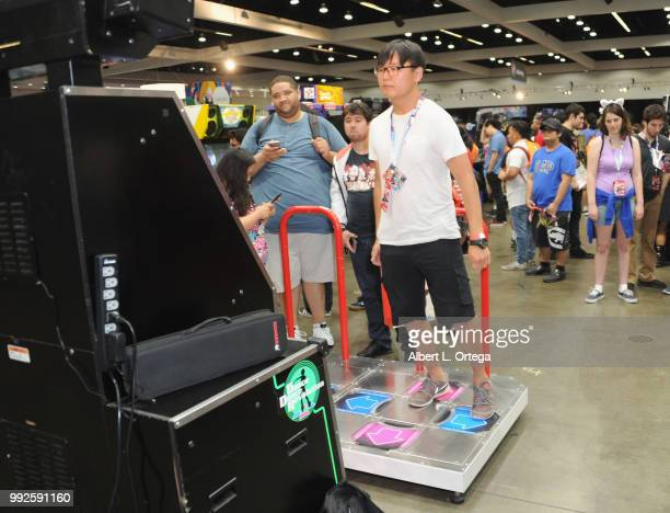 Atmosphere on day 1 of Anime Expo 2018 Los Angeles CA held at the Los Angeles Convention Center on July 5 2018 in Los Angeles California
