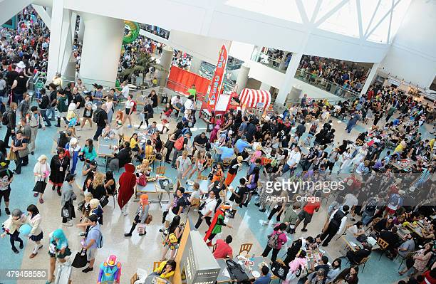 Atmosphere on day 2 of Anime Expo 2015 held at the Los Angeles Convention Center on July 3 2015 in Los Angeles California