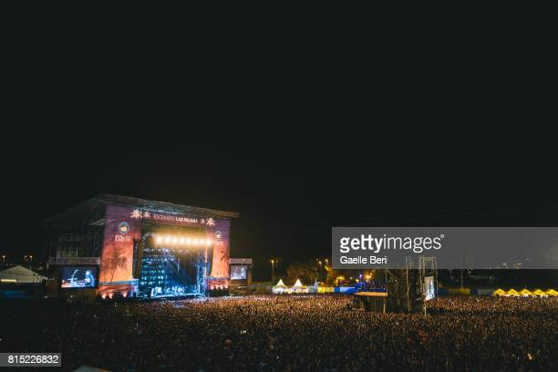 Atmosphere picture on Day 3 of FIB Festival on July 15 2017 in Benicassim Spain