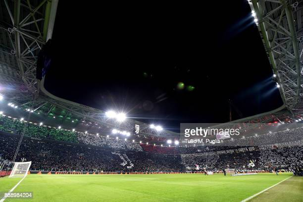 Atmosphere prior the Serie A match between Juventus and FC Internazionale at Allianz Stadium on December 9 2017 in Turin Italy