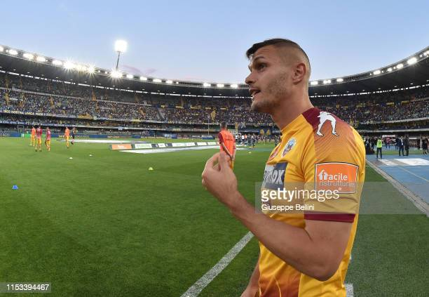 Atmosphere prior the Serie B Playoff Final second leg match between Hellas Verona and AS Cittadella at Stadio Marcantonio Bentegodi on June 2 2019 in...