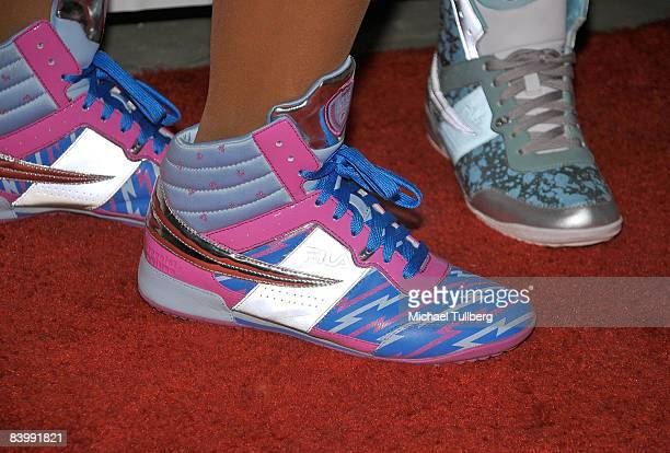 Atmosphere shot of Sportie LA's new Special Edition Melrose women's footwear by Fila at the launch party for the shoe on December 10 2008 in Los...