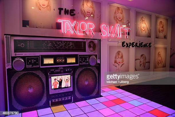 "Atmosphere shot of ""The Taylor Swift Experience"" at The GRAMMY Museum on December 12, 2014 in Los Angeles, California."