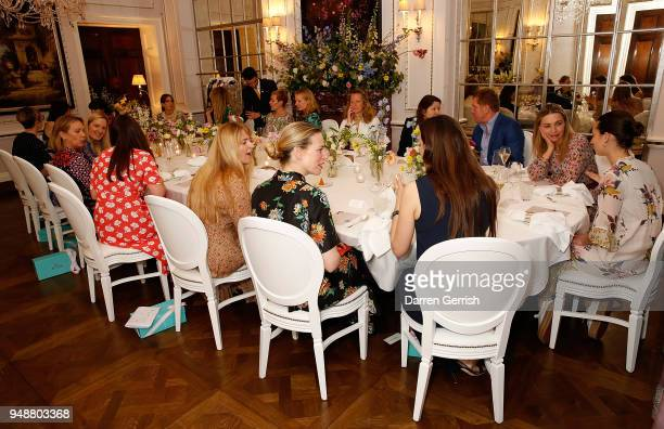Atmosphere the Boden Icons SS18 dinner at The Connaught Hotel on April 19 2018 in London England