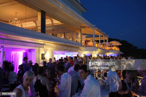 Atmosphere views during the VIP dinner party featuring The Weeknd performance hosted by iHeartMedia and MediaLink at Hotel du CapEdenRock in Antibes...