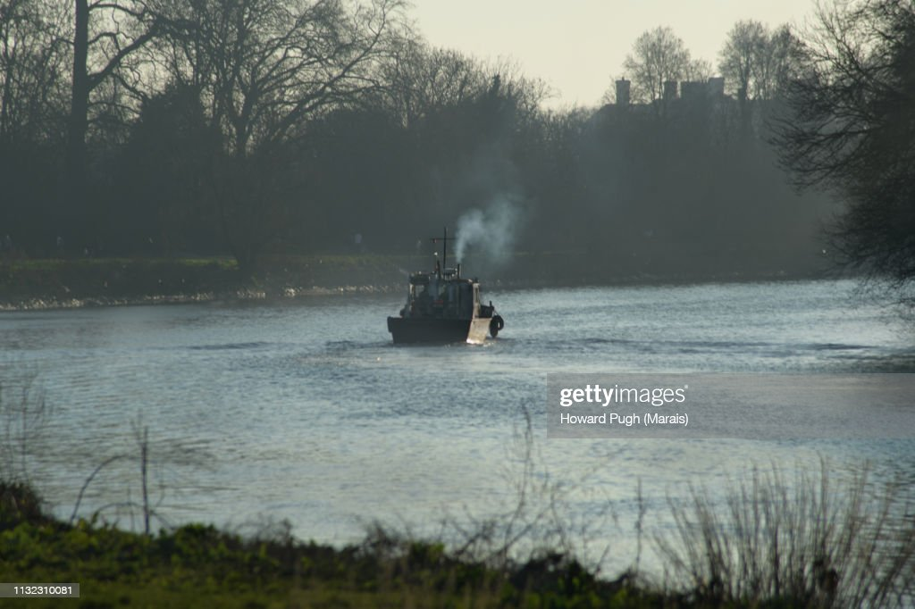 Atmospheric River Thames Landscapes : Stock Photo