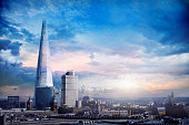 Atmospheric view of the majestic Shard