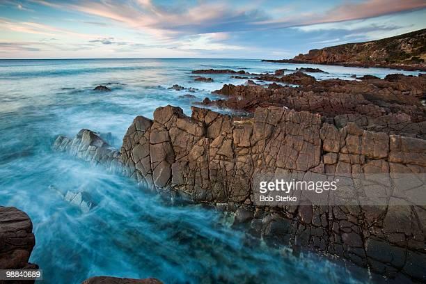Atmospheric water and rocks