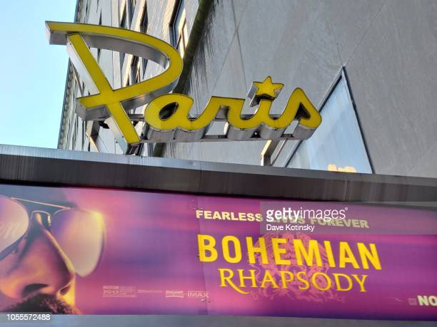 Atmposphere at the red carpet at the premiere for Bohemian Rhapsody on October 28 at The Paris Theatre in New York City at The Paris Theatre on...