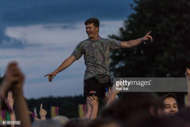 Atnosphere at Latitude Festival at Henham Park Estate on July 14 2017 in Southwold England