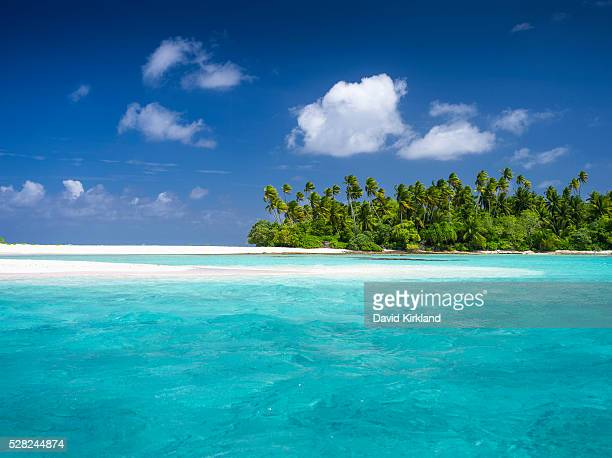 Atoll in the Kiribati Islands; Kiribati