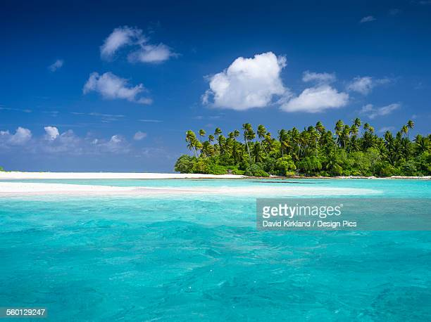 Atoll in the Kiribati Islands