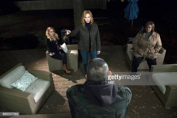 GIRLS Atom Bomb Episode 104 Pictured Mae Whitman as Annie Christina Hendricks as Beth Retta as Ruby Manny Montana as Rio