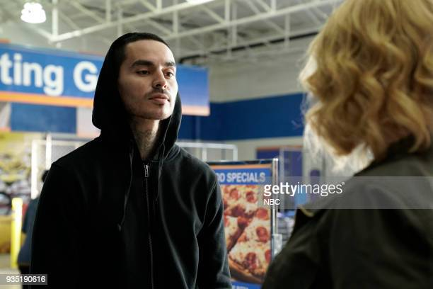 GIRLS Atom Bomb Episode 104 Pictured Manny Montana as Rio Christina Hendricks as Beth