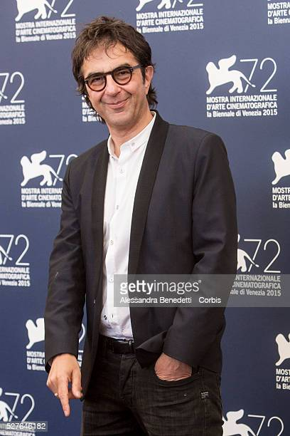 Atom Egoyan Bruno Ganz Heinz Lieven and Jurgen Prochnow attend the photocall of movie Remember presented in competition during the 72nd International...