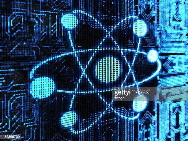 atom - nucleus stock pictures, royalty-free photos & images
