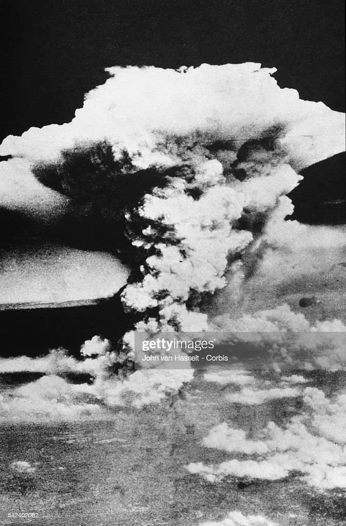 Mushroom Cloud Over Hiroshima : News Photo
