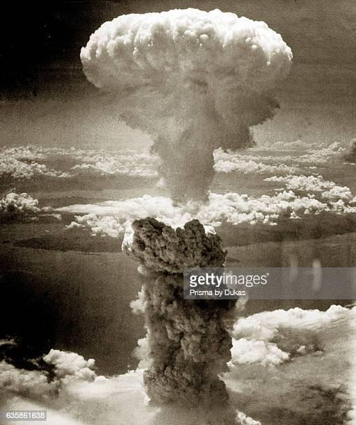 Atomic Bomb explosionin Nagasaki in 1945
