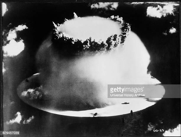 Atomic Bomb Test Bikini Atoll 1946