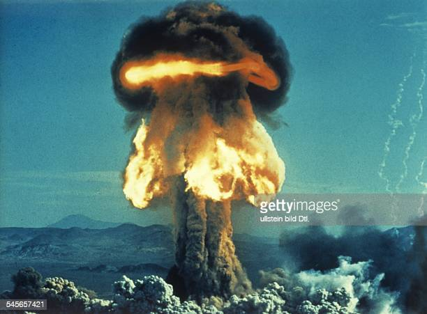 US Atomic bomb tests Explosion of an Abomb undated