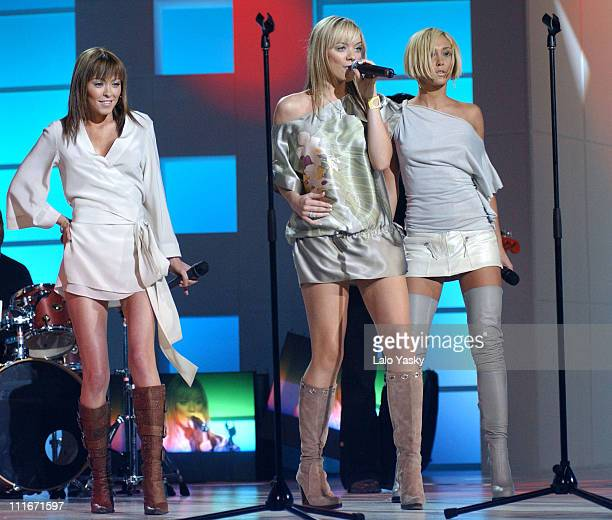 Atomic Kitten during 7th Annual Gala FAO Against Hunger at TVE Studios in Madrid Spain