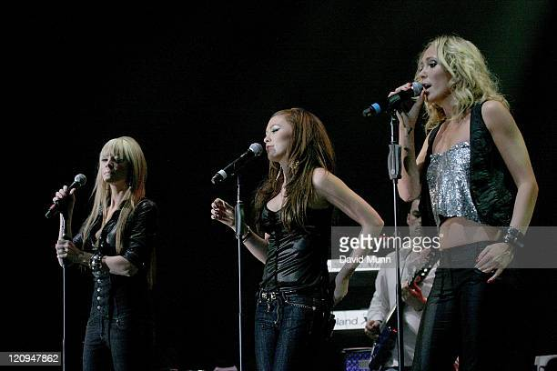 Atomic Kitten performing at The Liverpool Echo Arena on January 19 2008 in Liverpool England