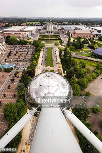 Atomium Monument and Brussels EXPO in Brussels, Belgium