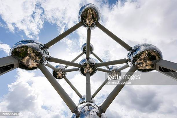 Atomium Monument in Brussels, Belgium