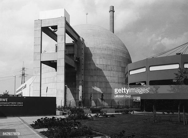 Atomkraftwerk Biblis Block Agebaut für RWE März 1975