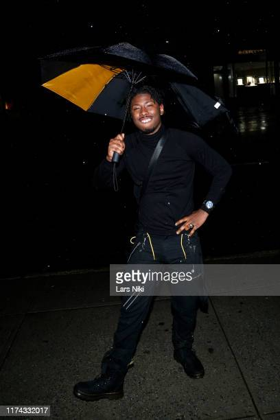 Atoms attends Tiffany Panhilason's NYFW Fundraising Event For Mentari on September 12 2019 in New York City