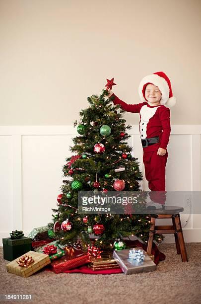Auf dem Weihnachtsbaum