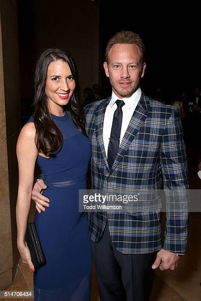 Ator Ian Ziering and Erin Kristine Ludwig attend the Alliance for Children's Rights' 24th annual dinner at The Beverly Hilton Hotel on March 10 2016...