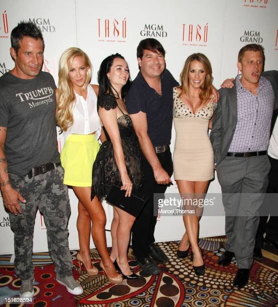 Ator Johnny Messner actressess Louise Linton Kristin Ruhlin actor Joey Michaely actress Tenille Houston and actor Alex Solowitz celebrate the DVD...