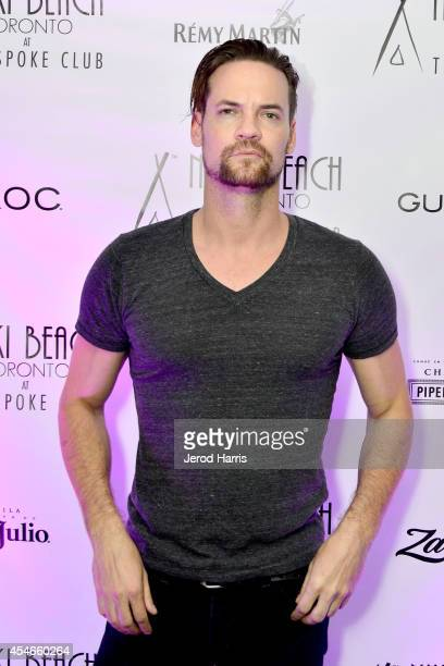 Ator Shane West attends the Nikki Beach Popup during the Toronto Film Festival Day 1 on September 4 2014 in Toronto Canada